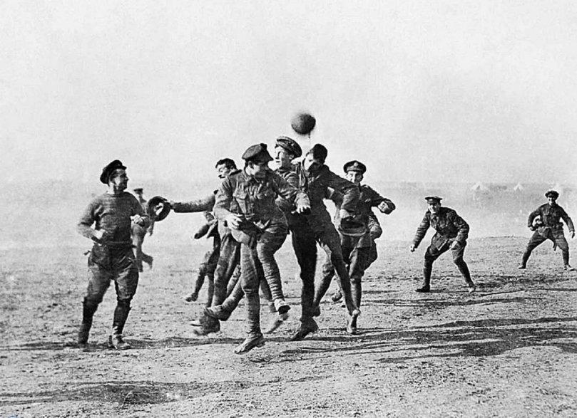treve de noel 1914