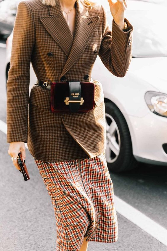 mode femme pied de poule 1